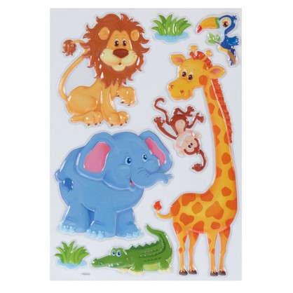 Наклейка 3D Животные POA 1017