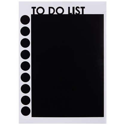 Наклейка меловая для записей To do list