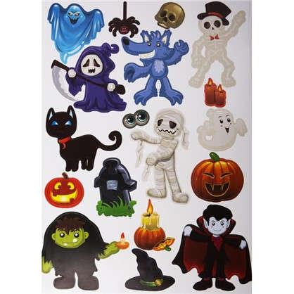 Наклейка на Halloween Сладость или гадость Декоретто