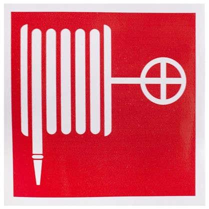 Наклейка Пожарный кран маленькая пластик