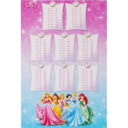 Наклейка Школа-таблица умножения Принцессы Декоретто S