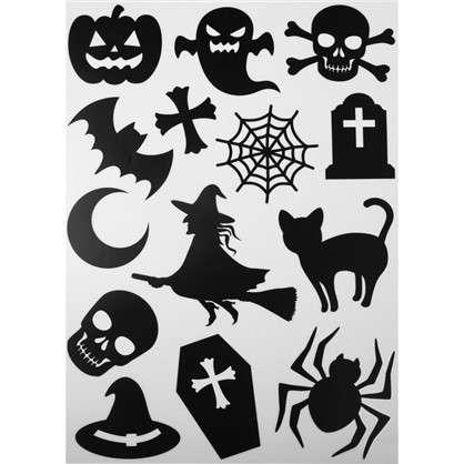 Наклейка Страшный хеллоуин светящаяся Декоретто