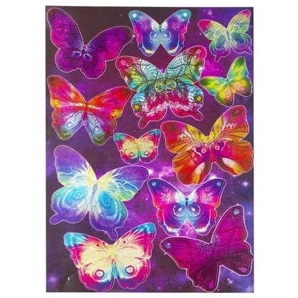 Наклейка Таинственные бабочки Декоретто L