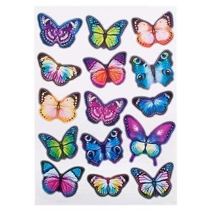 Наклейка Вечерние бабочки Декоретто L