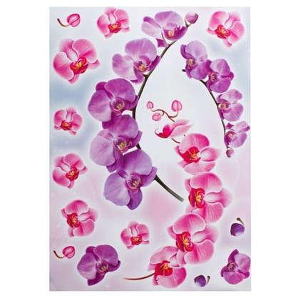 Наклейка Веточка орхидеи Декоретто L
