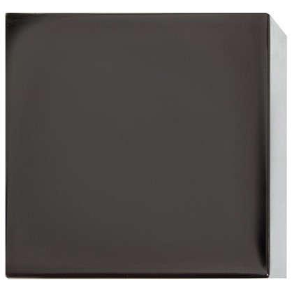 Наконечник Куб 3.7 см цвет оникс