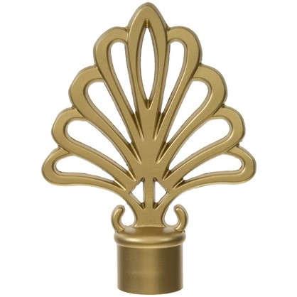 Наконечник Пальмера 9 см цвет золото матовое