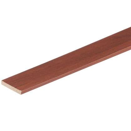 Наличник прямой ламинированный 70х2150 мм цвет итальянский орех