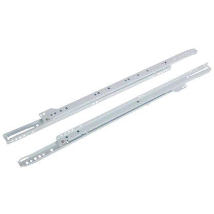 Направляющие роликовые Boyard DS01W.1/500 металл цвет белый