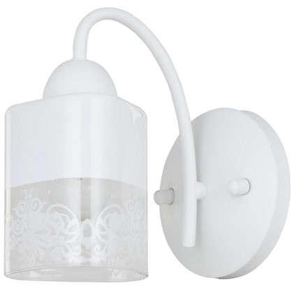 Настенный светильник Inspire Patt цвет матовый белый