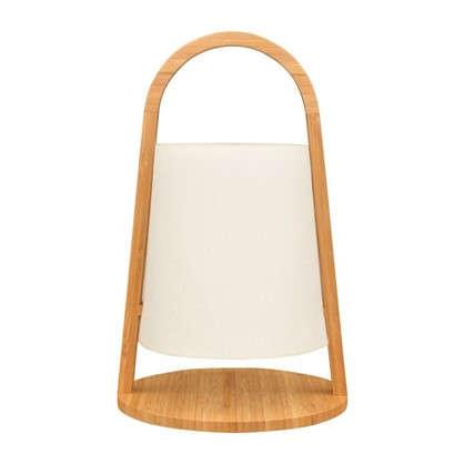 Настольная лампа Brentwood 1хE14x40 Вт 20 см цвет белый