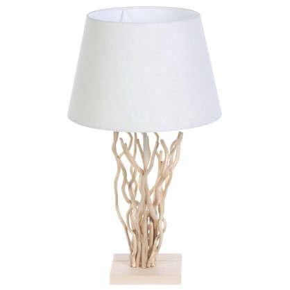 Настольная лампа декоративная Globo Сосна 25630 1хЕ27х60 Вт