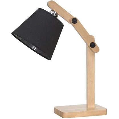 Настольная лампа Эктор 1хЕ27х60 Вт цвет черный