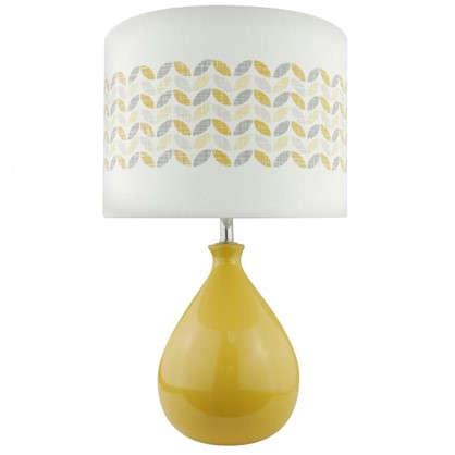 Настольная лампа Yellow L1129P цвет желтый/белый