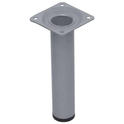 Ножка круглая 30х100 мм цвет серый