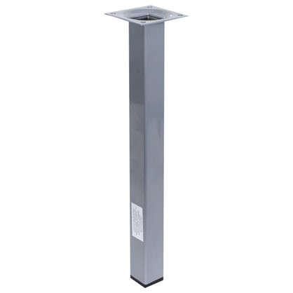 Ножка квадратная 300х25х25 мм цвет серый