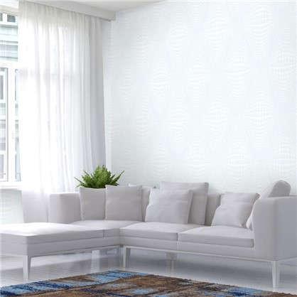 Обои Atmosph флизелиновые цвет белый 1.06х10 м