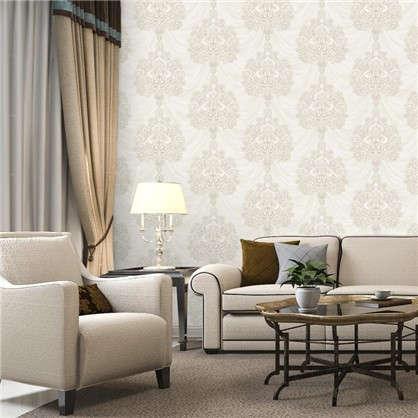 Обои Bottice 1157-00 флизелиновые цвет белый 1.06х10 м