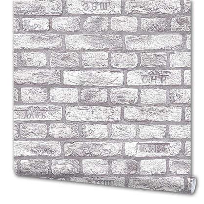Обои Бристоль 317 11 виниловые  цвет серый 0.53x10 м