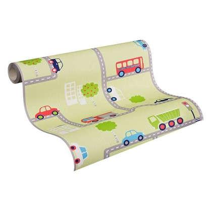 Обои бумажные для детской Машинки 0.53х10 м АС 936322