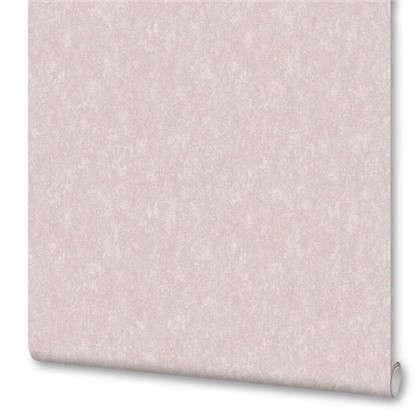 Обои ED1017-2 бумажные  цвет розовый 0.53x10 м