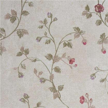 Обои флизелиновые 1.06х10 м цветы цвет бежевый ER 3515-4