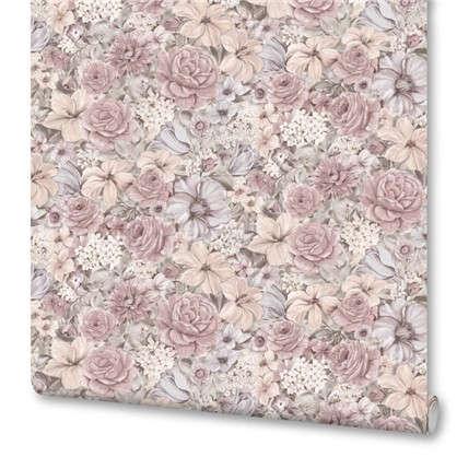 Обои флизелиновые 106х10 м цвет розовый ED1110-02