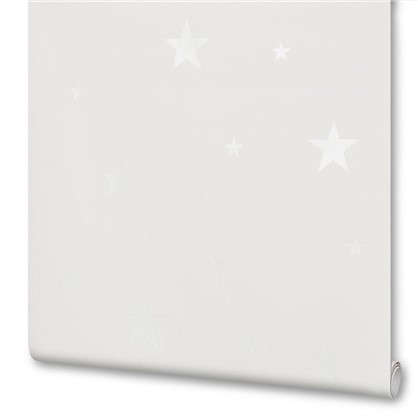 Обои флизелиновые для детской Звезды 0.53х10 м цвет белый АС 324401