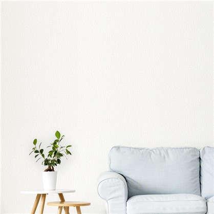 Обои Короед на флизелиновой основе цвет белый 1.06х25 м