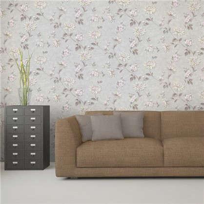 Обои на бумажной основе EcoStyle Астра 5 53x10.05 м цвет серый