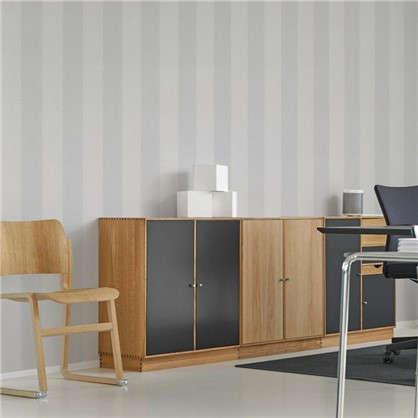 Обои на бумажной основе EcoStyle Франсе 5 53x10.05 м цвет серый