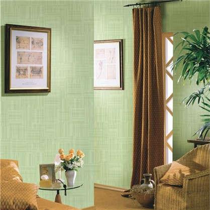 Обои на флизелиновой основе 1.06х10 м сетка цвет зеленый ER 2256-7