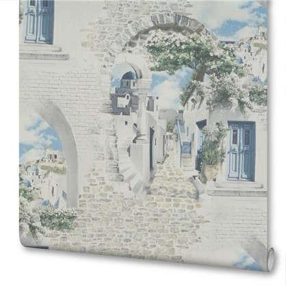 Обои на флизелиновой основе 106х10м рисунок города 45-215-02