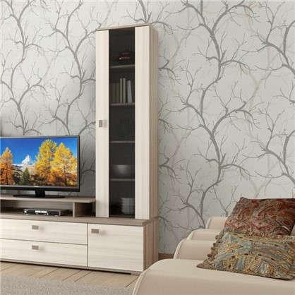 Обои на флизелиновой основе Деревья 1.06х10.05 м цвет серый 5