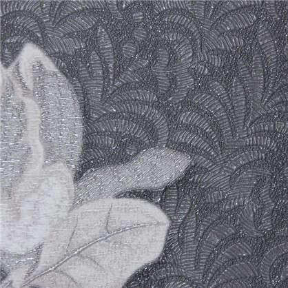 Обои на флизелиновой основе Malex Desing Вышивка 1.06x10.05 м цвет графит