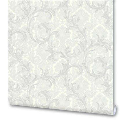 Обои на флизелиновой основе Вензеля 1.06х10 м цвет белый Им 159047-20