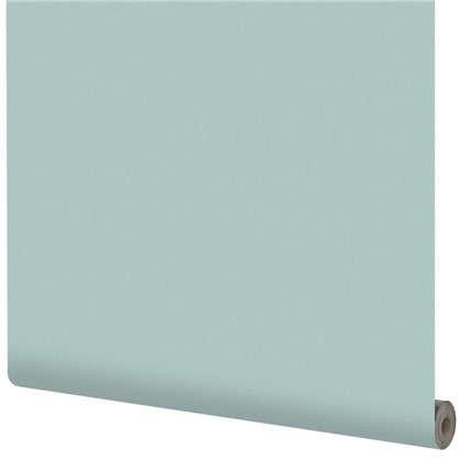 Обои на флизелиновой основке Inspire 1.06х10 м сталь цвет бирюзовый