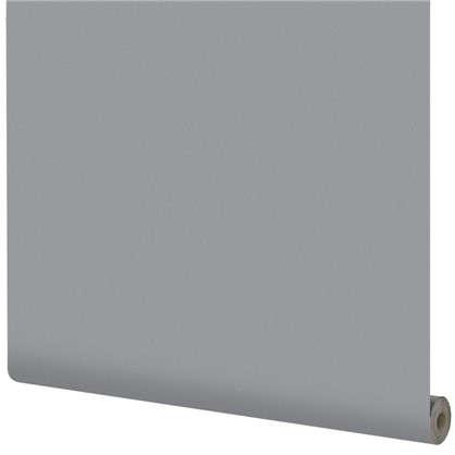 Обои на флизелиновой основке Inspire 1.06х10 м сталь цвет серый