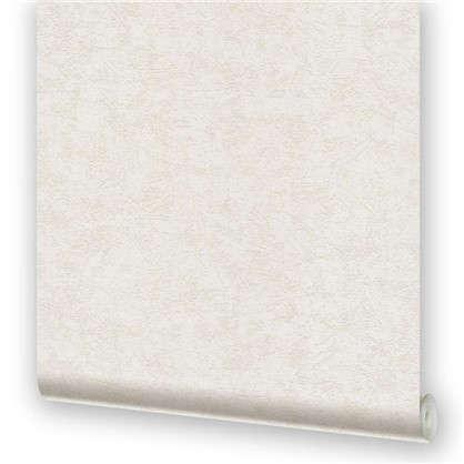 Обои виниловые 0.53х10.05 м однотон цвет бело-серый МОФ 1257-2