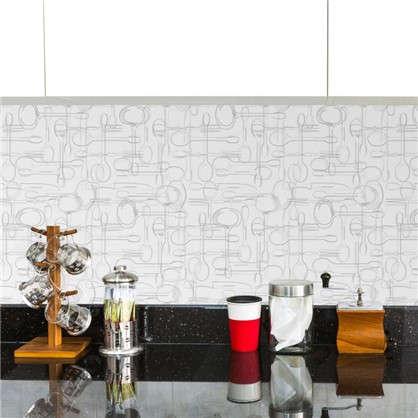 Обои виниловые Ложки 0.53х10 м цвет серый Вимала 2840