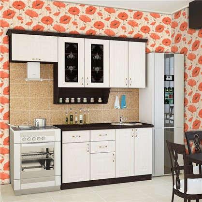 Обои виниловые Маки 0.53х10 м цвет бежево-оранжевый 236 01