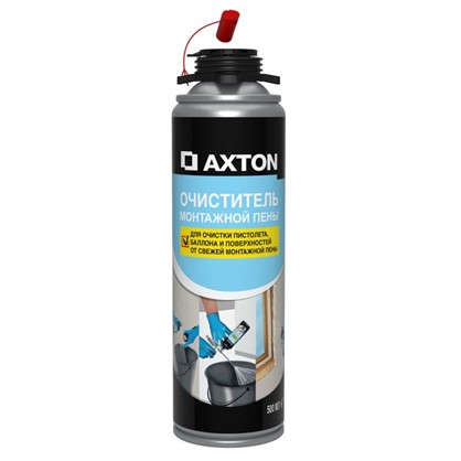 Очиститель монтажной пены Axton 0.5 л