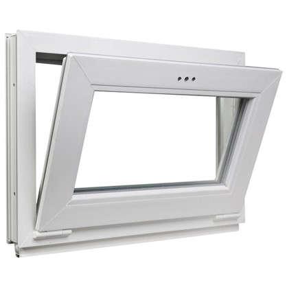 Окно-фрамуга ПВХ одностворчатое 50х70 см откидное