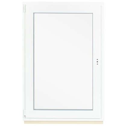 Окно ПВХ одностворчатое 120x80 см поворотно-откидное левое