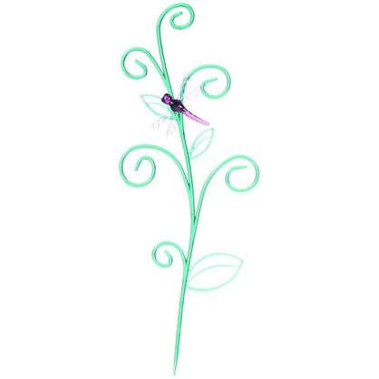 Опора для орхидей Стрекоза на ветке