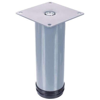 Опора круглая 150х50 мм цвет серый
