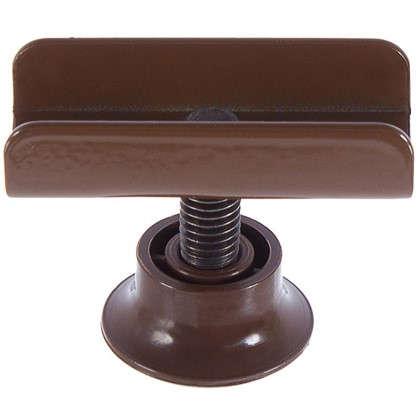 Опора регулируемая М8 под ЛДСП 16 мм цвет коричневый