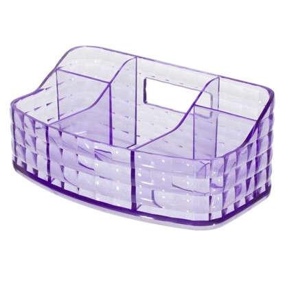 Органайзер для ванной комнаты цвет фиолетовый