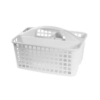 Органайзер-переноска 230х185х310 мм пластик цвет белый