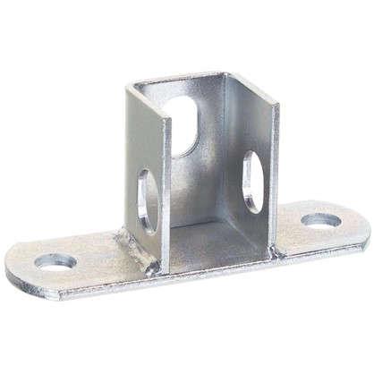 Основание потолочной стойки под профиль 120x40x4 мм сталь